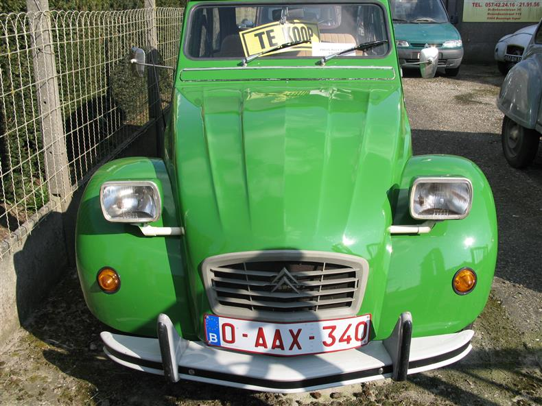 citroën 2cv6 club foto 1
